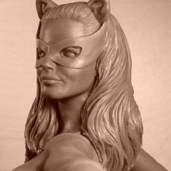 EXCLUSIVE! Behind the Scenes With Diamond's CATWOMAN '66 Statue