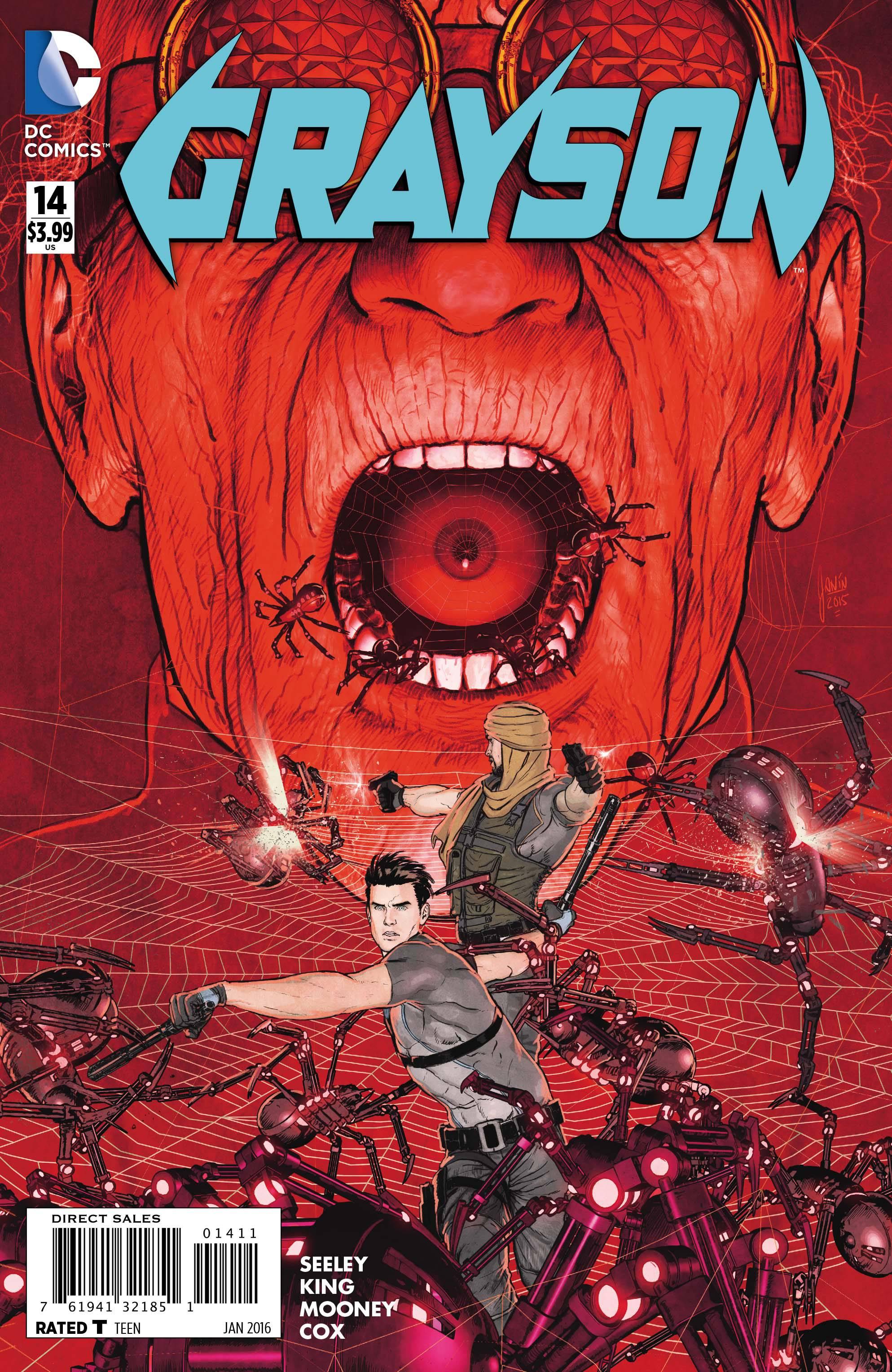 Batbook of the week grayson 14 13th dimension comics creators