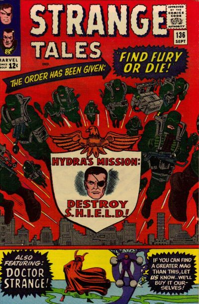 Jack Kirby, Steve Ditko and Mike Esposito art.