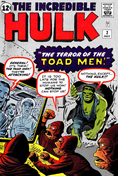 Jack Kirby and Steve Ditko art