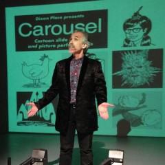 COOL EVENT ALERT: R. SIKORYAK's Live Comics Carousel