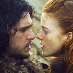 KIT HARINGTON and ROSE LESLIE for NIGHTWING and BATGIRL