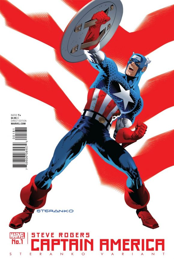 Do you really thbink Marvel would have tons of heroic Cap variants, from the likes of Jim Steranko if they meant this Hydra business to stick? No. Cap will still be Cap in the end.