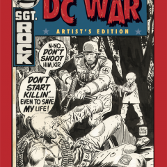 EXCLUSIVE Preview: BEST OF DC WAR Artist's Edition — Kubert, Kirby and More!