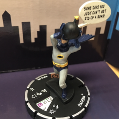 FIRST REVIEW: HeroClix's BATMAN With BOMB