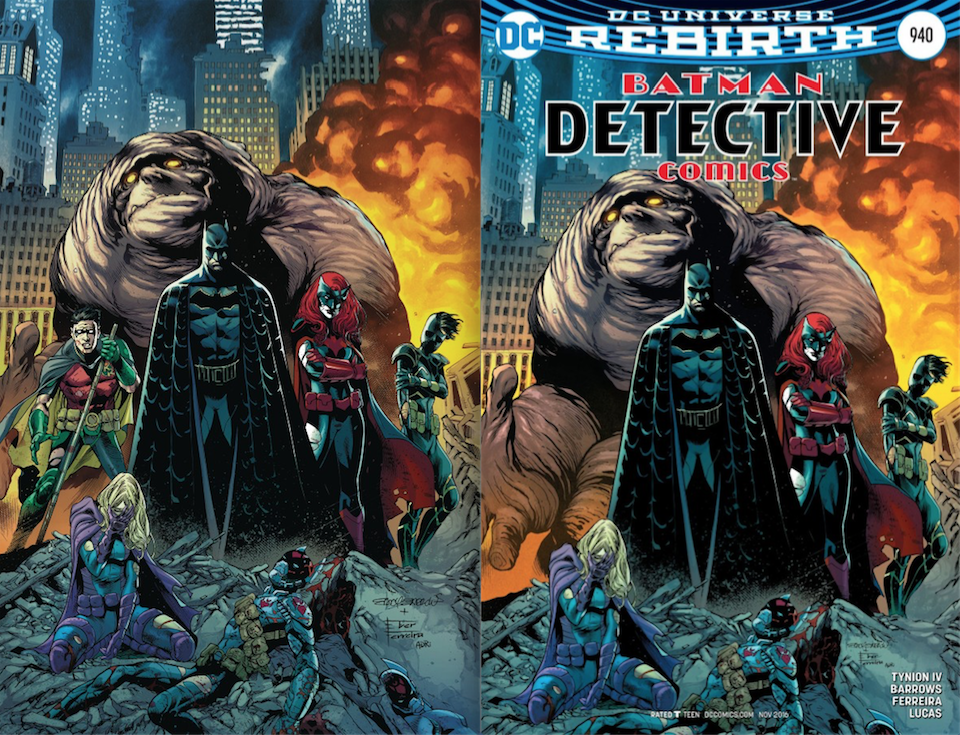 Compare the rendering on the left with the one on the right. Where's Tim? In that suit...?