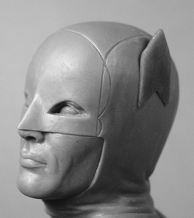 Adam West head left