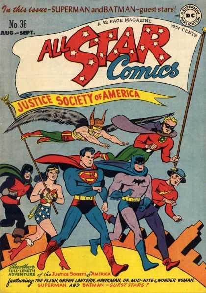 All Star Comics 36