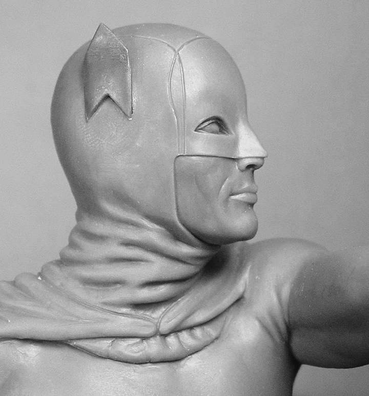 Batman head detail