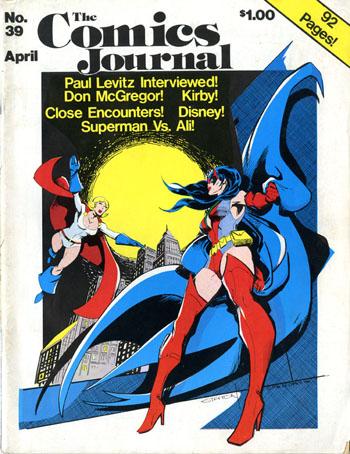 Comics Journal 39