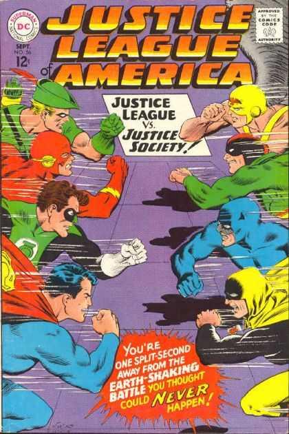 Justice League of America 56
