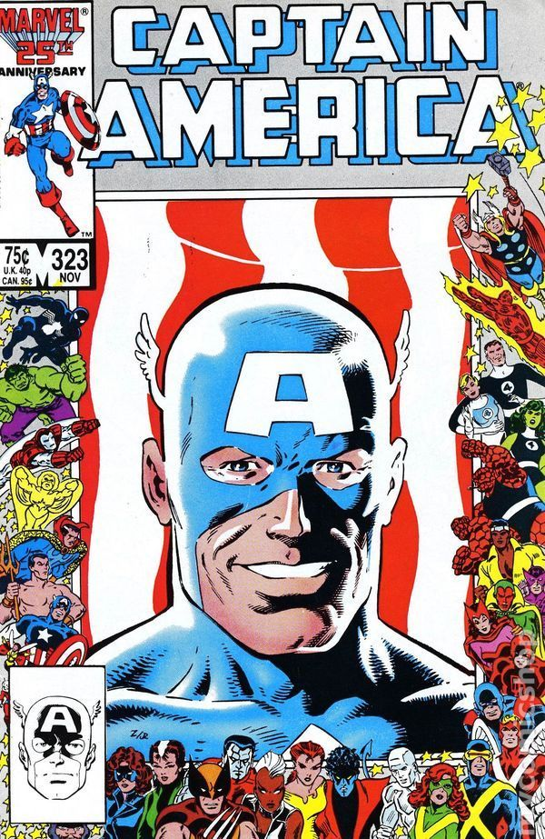 Issue written by Gruenwald. Cover by Mike Zeck and Joe Rubinstein.