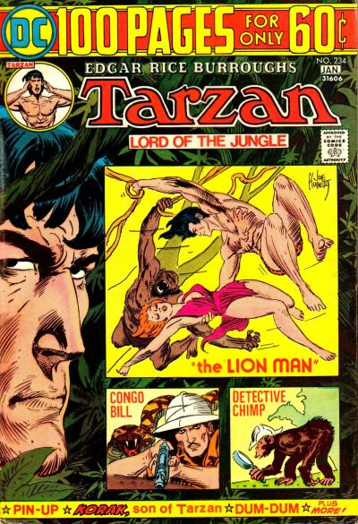 No artist made better use of the restrictive 100-Page cover template than Kubert.
