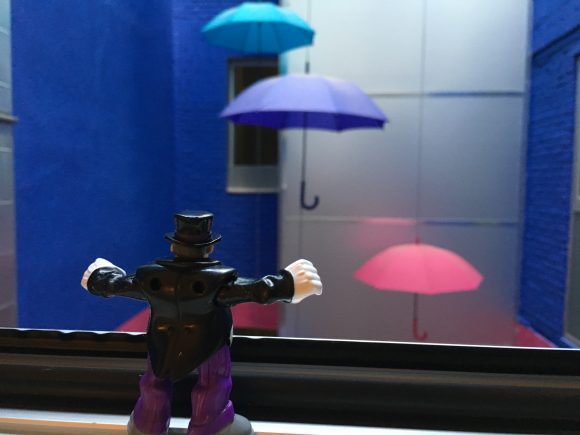 Waak! Waak! I may be stuck in this glass prison! But once my Umbrella Jets free me, I'll be back -- with some friends of my own! Waak! Waak! Waak!