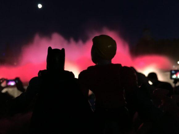The Magic Fountain is great, isn't it, Batman?