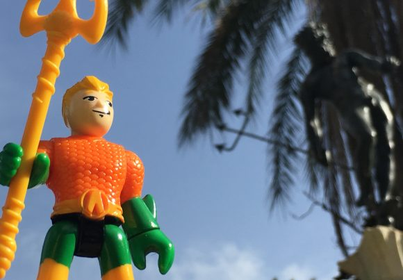 Great Poseidon! Next stop... Seville and the Alcazar! (You may know it as Dorne from Game of Thrones).