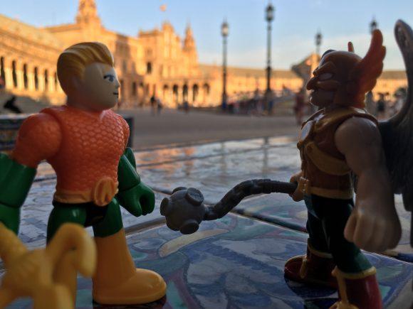 """The Plaza de Espana is maginificent, Arthur..."""