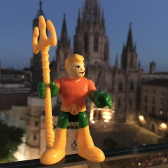 AQUAMAN's Spanish Vacation