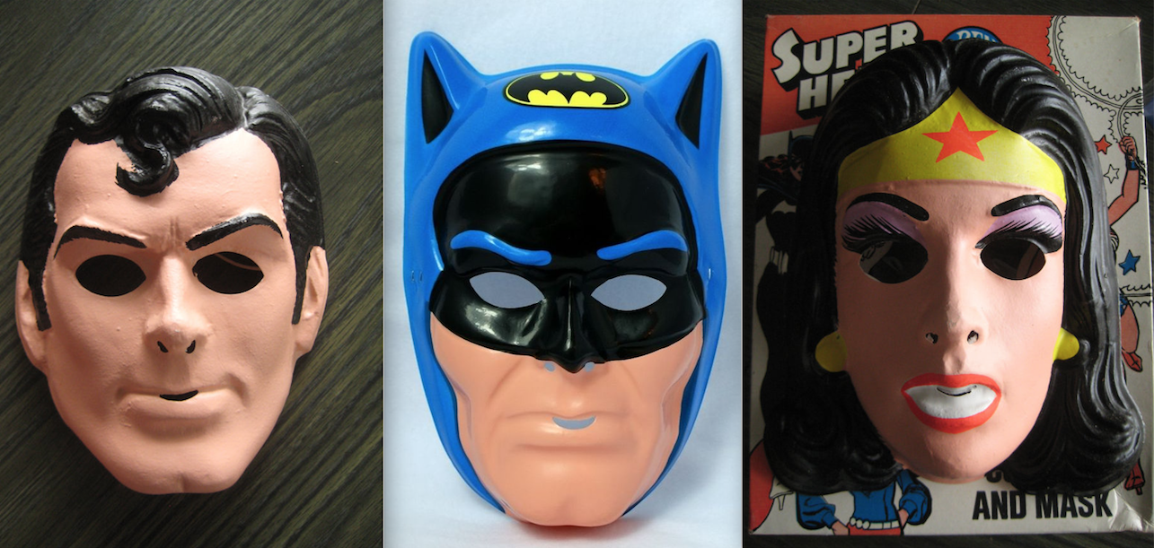 A selection of Ben Cooper masks found on the web.