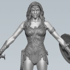 FIRST LOOK: NJ Croce's WONDER WOMAN Figure Coming in 2017
