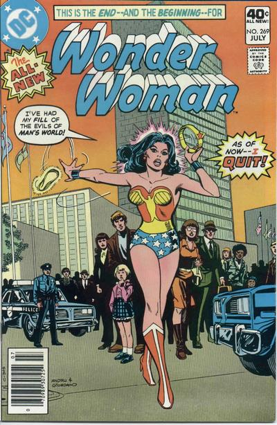 Ross Andru pencils, Dick Giordano inks. Wait ... wasn't Wonder Woman just honored at the UN?
