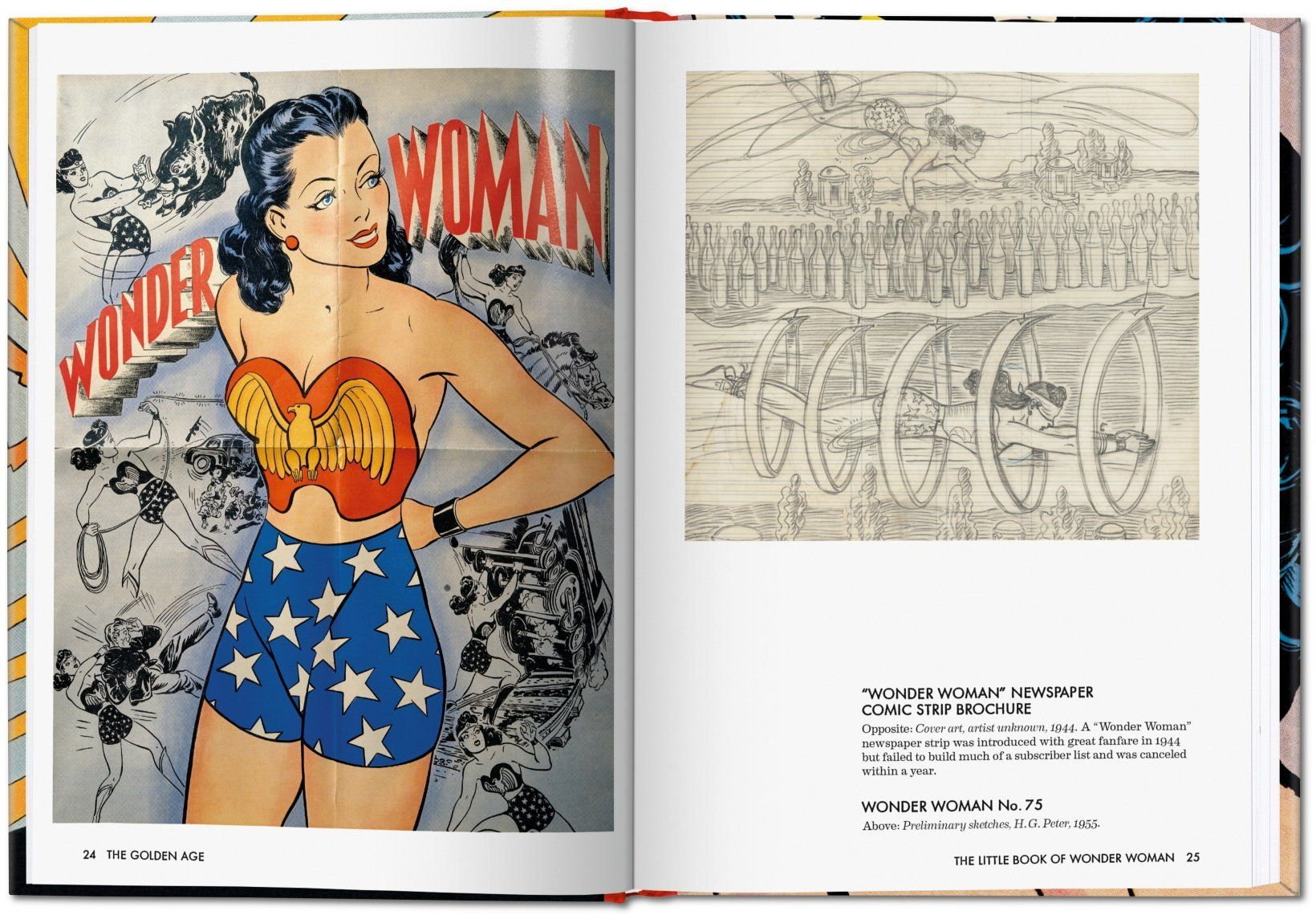 Levitz's Little Book of Wonder Woman, published by Taschen