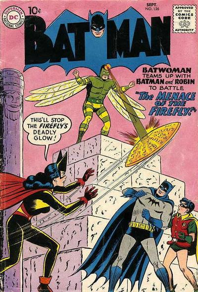 Firefly II, cover by Curt Swan and Stan Kaye.