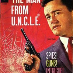 13 COVERS: ROBERT VAUGHN as The Man From UNCLE