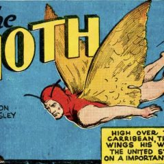 13 DAYS OF SUPER WEIRD HEROES: The Moth!