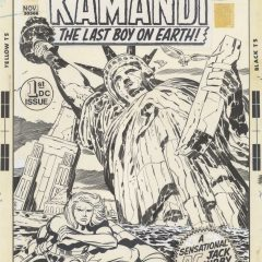 13 DAYS OF JACK KIRBY: PENCILS AND INKS #5