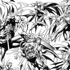 13 DAYS OF THE NEAL ADAMS GALLERY: Batman's Dance of Death!