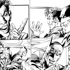 13 DAYS OF THE NEAL ADAMS GALLERY: Batman, the Joker and a Ghostly Friend