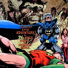 The Brilliant Majesty of the BATMAN-RA'S AL GHUL Treasury