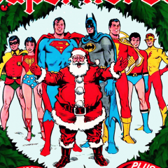 A TREASURY TO TREASURE: Christmas with the Super-Heroes!