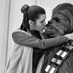 CHEWBACCA Actor Peter Mayhew's Tribute to Carrie Fisher