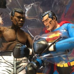 SUPERMAN VS. MUHAMMAD ALI Action Figures Are a Kitschy Blast