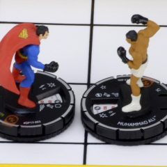 SUPERMAN VS. MUHAMMAD ALI Goes Miniature