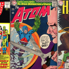 13 Groovy Atom (and Hawkman) Covers!