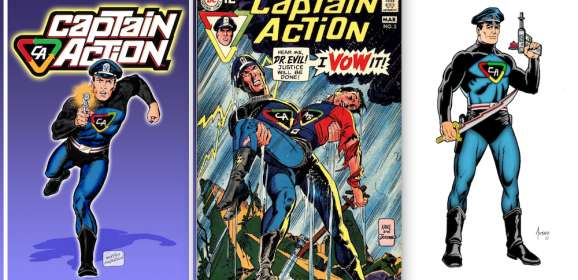 13 Great CAPTAIN ACTION Artists