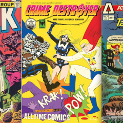 13 COVERS That Inspired Fantagraphics' New ALL TIME COMICS