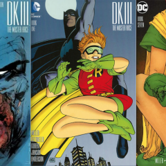 13 DARK KNIGHT COVERS: A Frank Miller Birthday Tribute