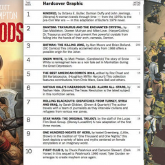 NEW YORK TIMES Defends Axing Comics Bestseller Lists