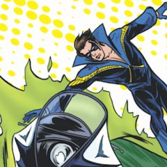 Holy Flash Forward! Burt Ward as … NIGHTWING?!