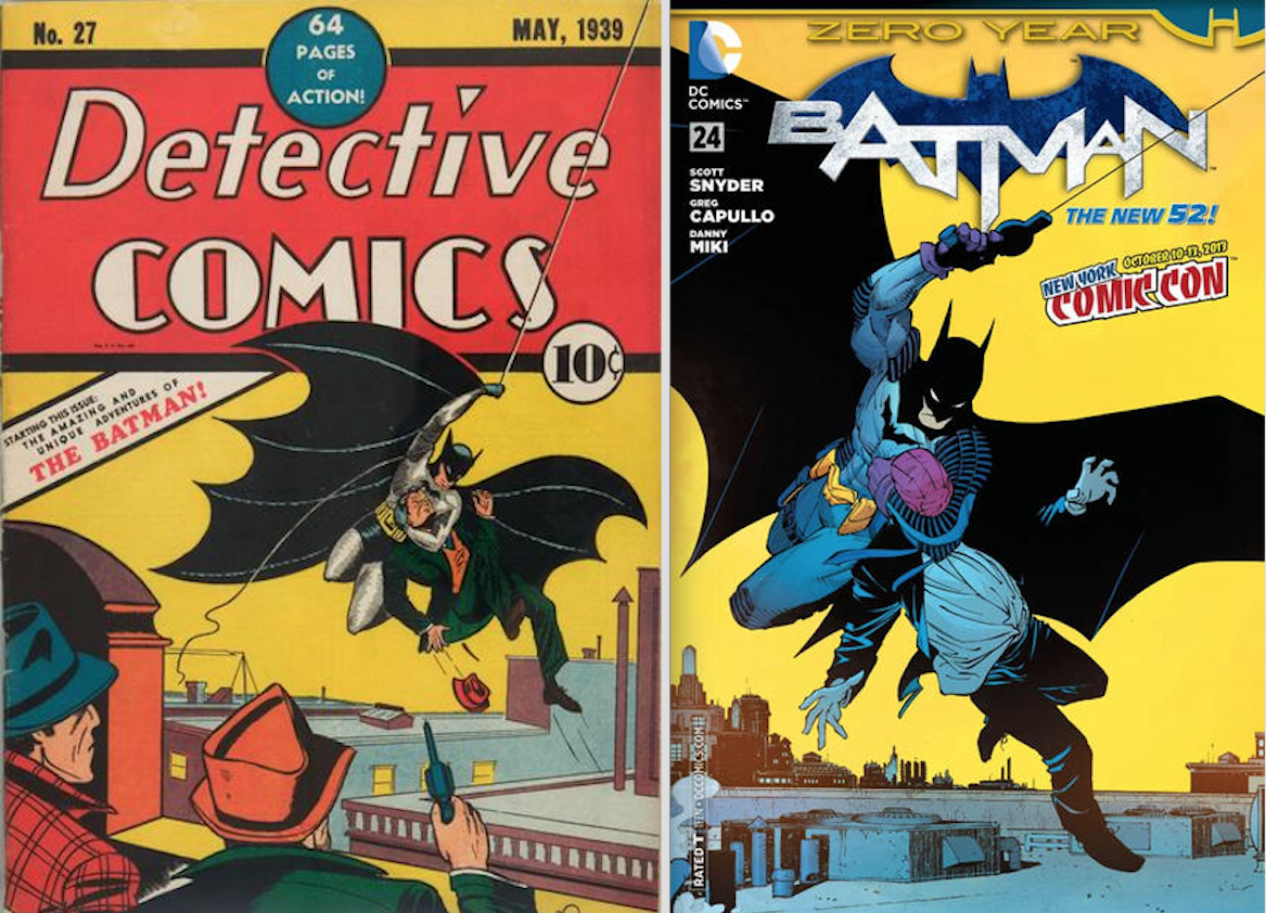Batman From 1939 To Today A Bill Finger Birthday Tribute