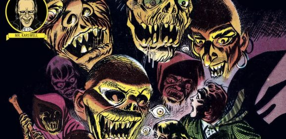 13 Insane Splash Pages from HAUNTED HORROR: THE SCREAMING SKULLS