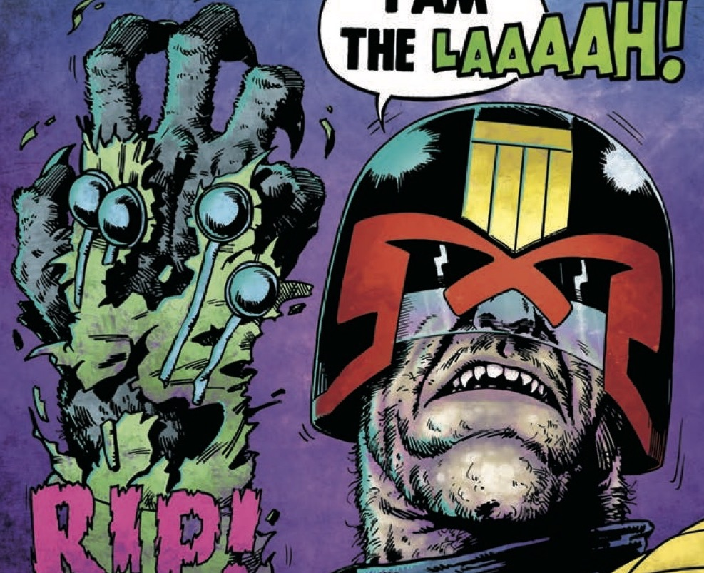 EXCLUSIVE Preview: JUDGE DREDD: CRY OF THE WEREWOLF Steve ...