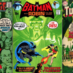 13 Green NEAL ADAMS Covers for St. Patrick's Day