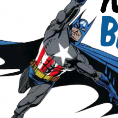 NORM BREYFOGLE's Batman/Captain America Makeover