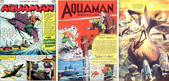 13 Great AQUAMAN Artists: Norris to Fradon to Cardy to Aparo to Today