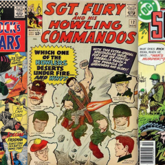 13 COVERS: MEMORIAL DAY With SGT. ROCK & SGT. FURY